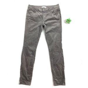 Loft Corduroy Curvy Skinny Pants size 28 / 6 🍷